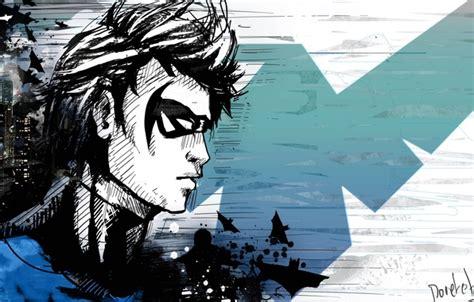 Wallpaper Dick Grayson, Nightwing, Dc Comics, Nightwing