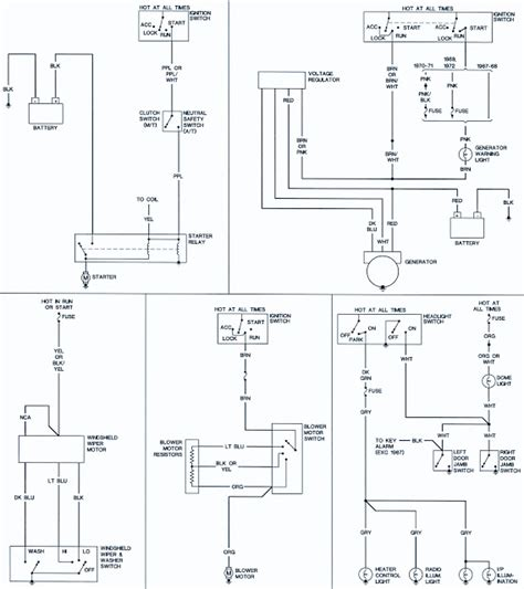 Sukup Ignition Wiring Diagram by 1967 69 Chevrolet Camaro Wiring Diagrams Schematic