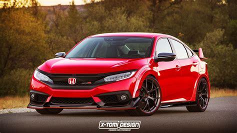 New Honda Civic Type R by Honda Civic Sedan Gets The Type R Treatment
