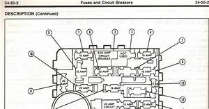 1994 Ford Aerostar Fuse Box Diagram