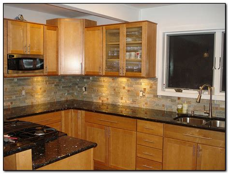 granite countertops and cabinets oak cabinets with granite countertops home and cabinet