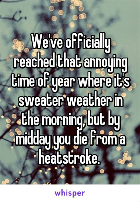 Weve Officially Reached That Annoying Time Of Year Where Its Sweater Weather Funny Funny