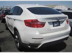 Export Salvage 2011 BMW X6 XDRIVE50I WHITE ON WHITE