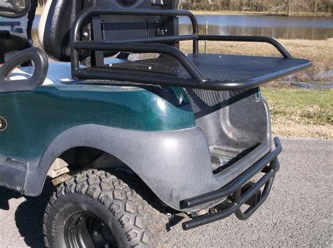 golf cart racks golf cart rear baskets grizzly metalworks handcraftedcnc cut stealthy
