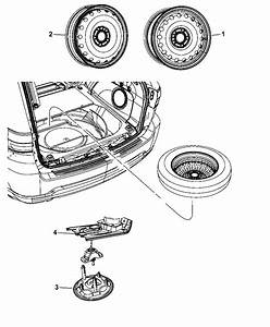 2012 Dodge Durango Engine Diagram : 52124604ac genuine mopar winch spare tire carrier ~ A.2002-acura-tl-radio.info Haus und Dekorationen