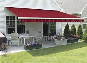sonnenschutz markisen terrasse usblifeinfo With markise balkon mit tapete rot grün