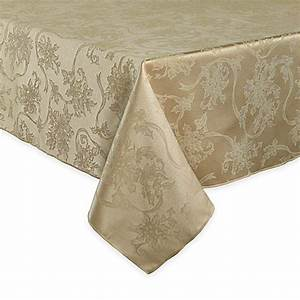 Buy Christmas Ribbons 60 Inch X 84 Inch Oval Tablecloth In