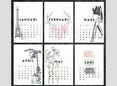 Kalendarz 2015 do wydrukowania Ładne rzeczy!