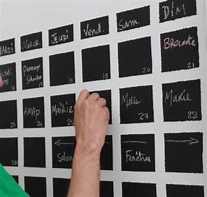 Calendrier Photo Mural : diy 4 comment r aliser un calendrier mural permanent ~ Nature-et-papiers.com Idées de Décoration