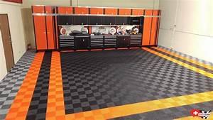 Revetement De Sol Pour Garage : sol garage pour harley davidson dalles clipsables pour motos ~ Dailycaller-alerts.com Idées de Décoration