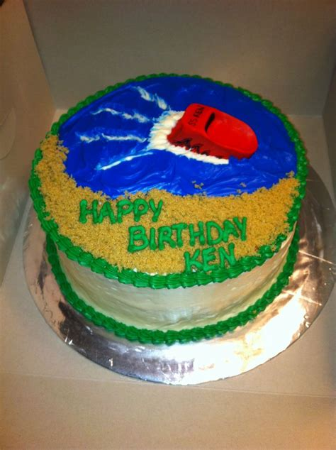 Speed Boat Birthday Cake by Speed Boat Birthday Cake Cake Cakes