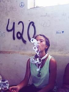 smoking weed on Tumblr