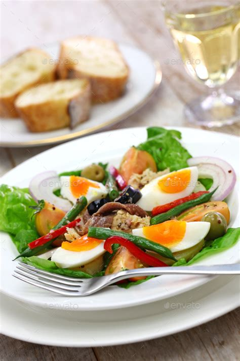 cuisine nicoise nicoise salad cuisine stock photo by motghnit photodune