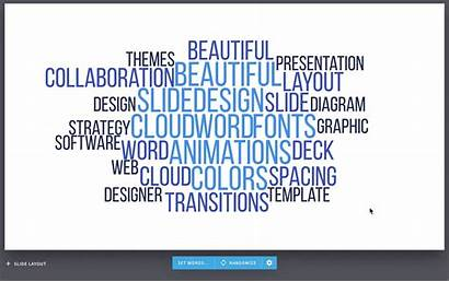 Word Cloud Slide Ai Template Words Slides