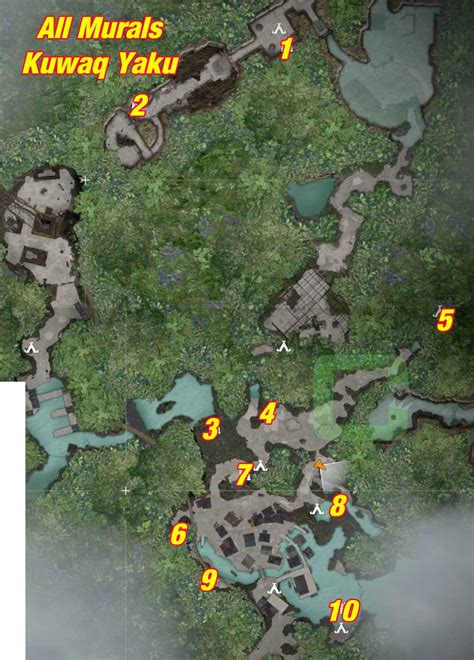 Map Raider Tomb Challenge Collectibles