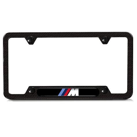 Bmw License Plate Holder by Shopbmwusa Bmw M Carbon Fiber License Plate Frame