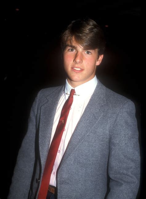 Tom Cruise, 1981 | Old Red Carpet Photos Vintage Archive ...