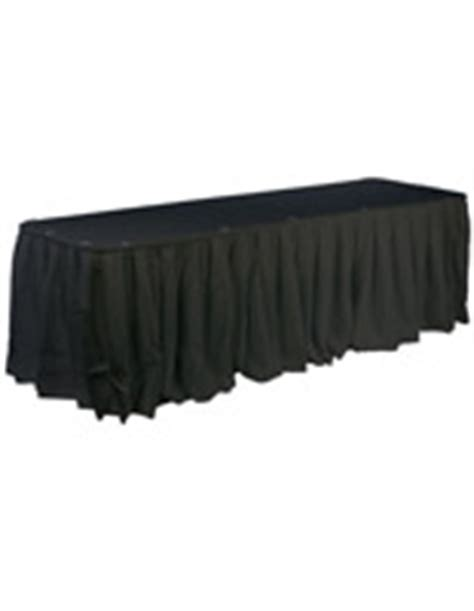 trade show table skirts table skirts wedding event trade show tablecloths