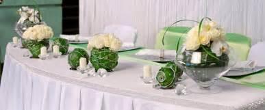 hochzeit tischdeko blumen tischdeko grün