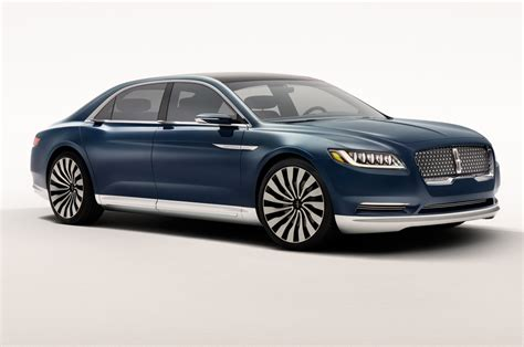 2019 Lincoln Continental Design, Engine, Release And Photos