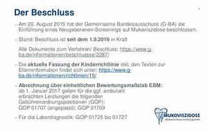 Gop Abrechnung : neugeborenen screening auf mukoviszidose in deutschland ~ Themetempest.com Abrechnung