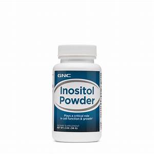 Gnc Inositol Powder  93 Servings  Supports Cell Function And Growth - Walmart Com
