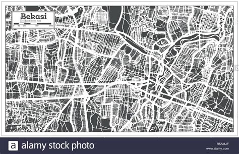 indonesia map black white illustration stock