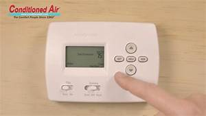 Conditioned Air Honeywell Pro 4000 Thermostat How To