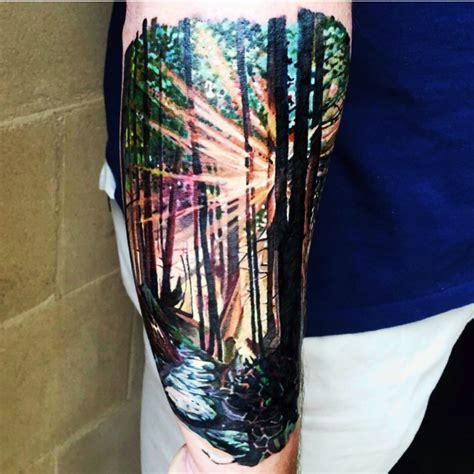 tattoo uploaded  tara lakytattoos nature woods