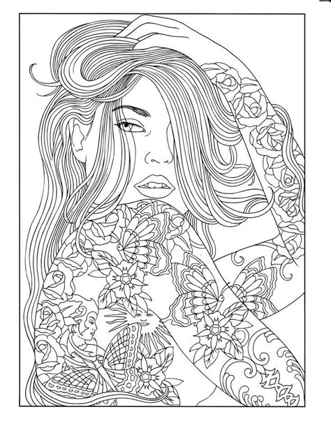 Body Art: Tattoo Designs Coloring Book | Zentangles ~ Adult Colouring | Pinterest | Coloring