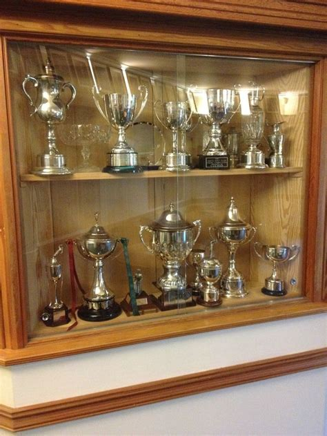 Club House Trophy Cabinet  Trophy Case  Pinterest