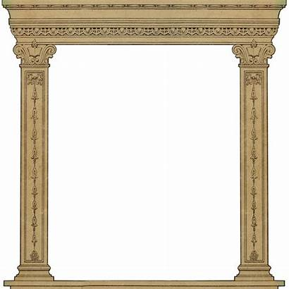 Roman Arch Column Clipart Frame Transparent Webstockreview
