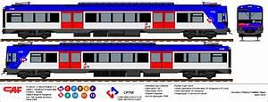 Desenhos De Trens Urbanos  Tue Caf Renfe  Atual 2100 Da Cptm
