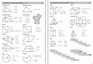 Kreisvolumen Berechnen : gm202 formelsammlung niveau ii iii mathematik ~ Themetempest.com Abrechnung