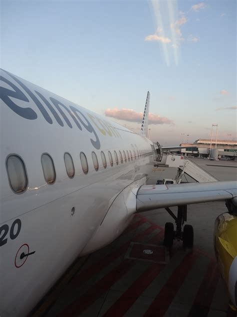 Review Of Vueling Airlines Flight From Rome To Paris In