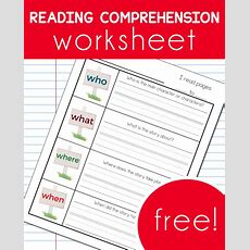 Reading Comprehension Worsheet » One Beautiful Home