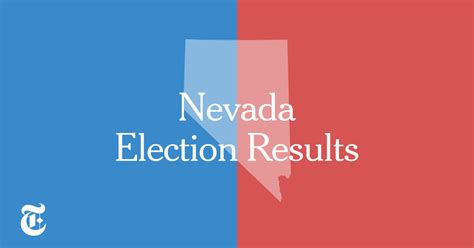nevada primary election results   york times