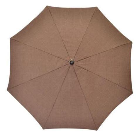 plantation patterns 7 1 2 ft patio umbrella in brown