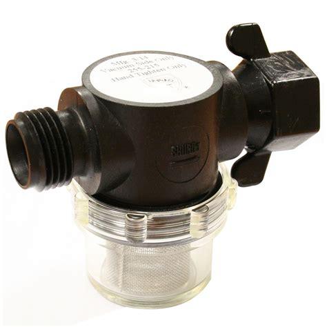 shurflo in line water strainer filter 1 2 quot pipe caravan motorhome 752324009329 ebay