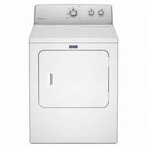 Shop Maytag 7-cu ft Electric Dryer (White) - While