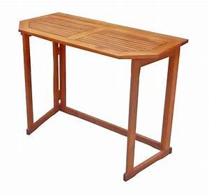 Balkontisch Holz Klappbar : balkontisch holz rechteckig klappbar tischplatte abgeschr gt fsc 100 ~ Frokenaadalensverden.com Haus und Dekorationen
