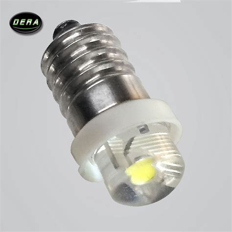 e10 led flashlight replacement bulb torch l light cool