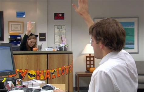 National High Five Day The Office Office Office Memes