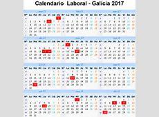 Calendario Laboral 2017 en Galicia Vigopeques Familias