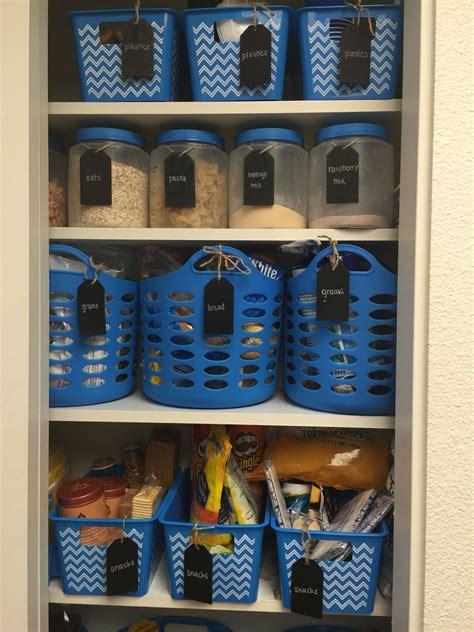 dollar tree baskets  organizing  kitchen