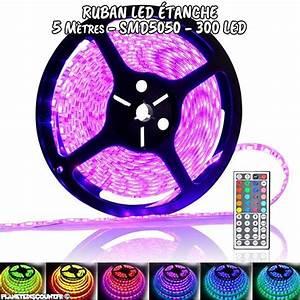 Ruban Led Pas Cher : ruban led achat ruban led flexible tanche rgb pas cher ~ Melissatoandfro.com Idées de Décoration