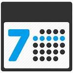 Calendar Weeks Transparent Number Schedule Grid Pngio
