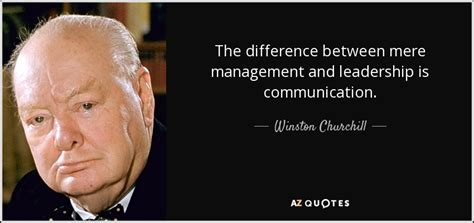 winston churchill quote  difference  mere