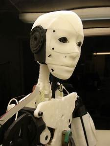 Inmoov  Power Supply   Robot Head Printed