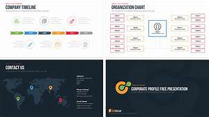 company profile free powerpoint template slidebazaar With personal profile design templates